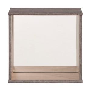 Zrcadlová nástěnná polička Parisot Cube