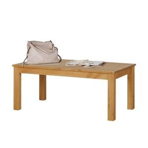 Přírodní konferenční stolek z borovicového dřeva Støraa Tommy
