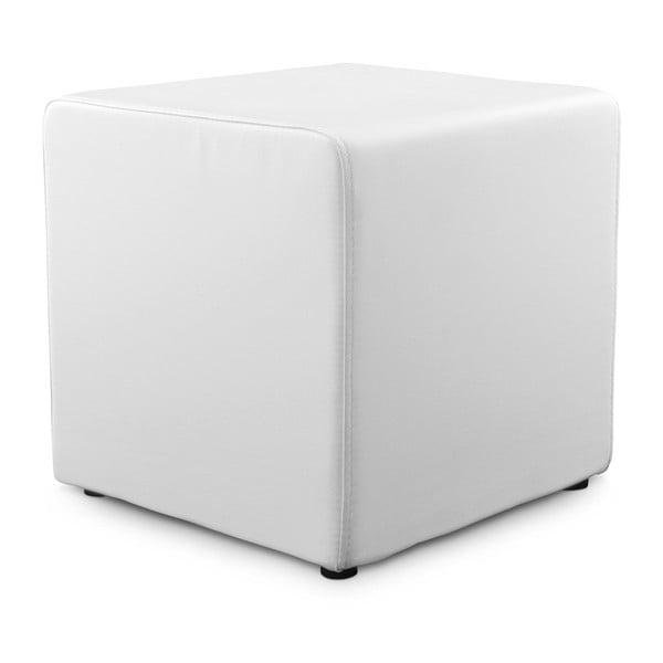 Bílý puf Kokoon Rubik