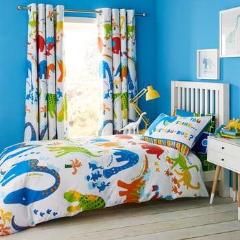 Lenjerie de pat pentru copii Catherine Lansfield Dino, 135 x 200 cm imagine