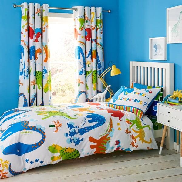 Lenjerie de pat pentru copii Catherine Lansfield Dino, 135 x 200 cm