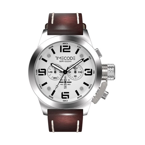 Pánské hodinky Nations 1945, Metallic/White