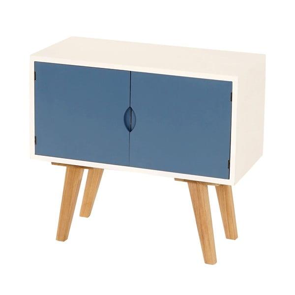 Menší komoda Vaasa Blue, 60x55 cm