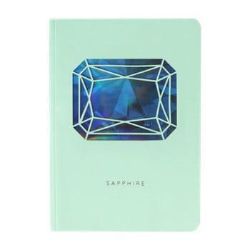 Jurnal A6 Portico Designs Sapphire Birthstone, 124 file imagine