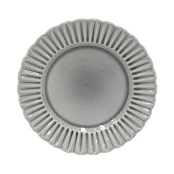 Farfurie din gresie ceramică Costa Nova Cristal, ⌀ 28 cm, gri imagine