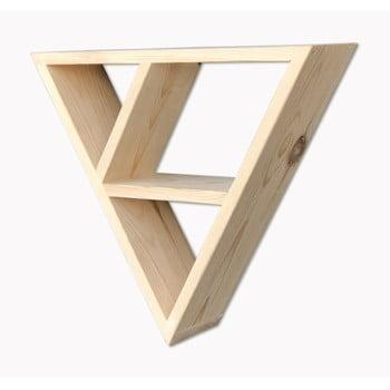 Raft suspendat din lemn Simple Triangle