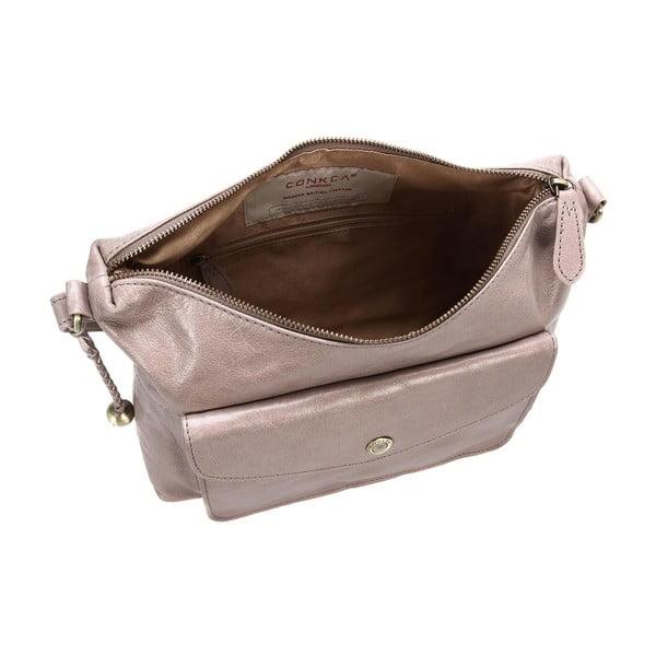 Dámská kožená taška Angel Zinc