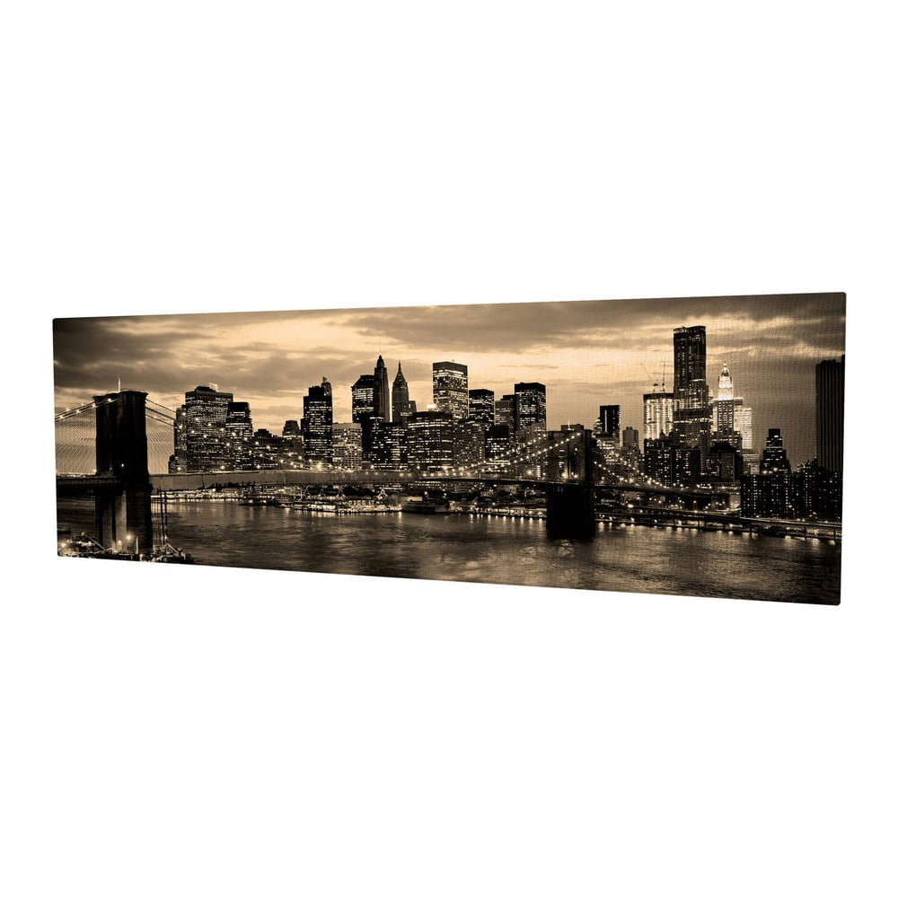 Obraz na plátně New York, 80 x 30 cm