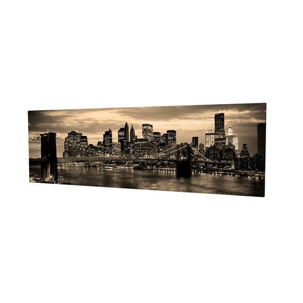 Obraz na plátně New York, 80x30cm