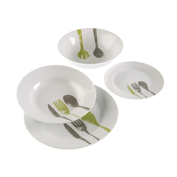 Set kuchyňského nádobí Green Cutlery, 19 ks