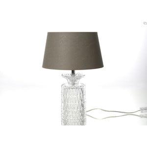 Stolní lampa Glass Taupe