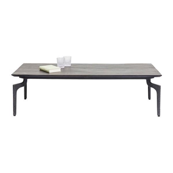 Černý jídelní stůl z recyklovaného dřeva Kare Design Boston, 300 x 90 cm