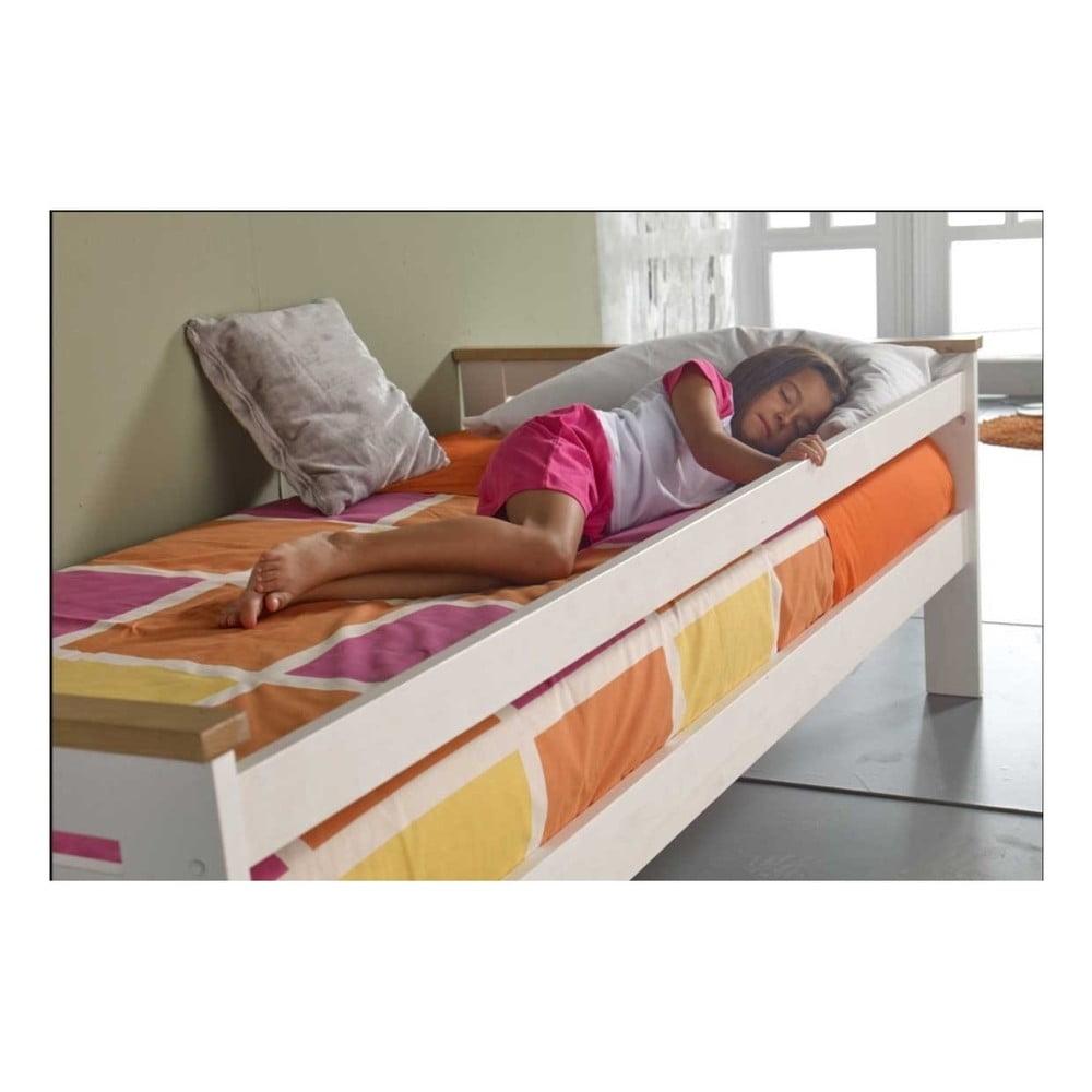 Bílá postel SOB Jessica, 90 x 200 cm