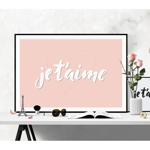 Plakát Je t´aime, A2