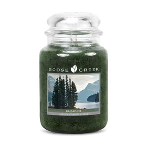 Vonná svíčka ve skleněné dóze Goose Creek Balzám z jedle, 0,68 kg