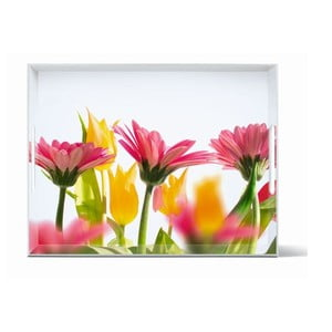 Podnos Classic Summer Flowers, 40x31 cm