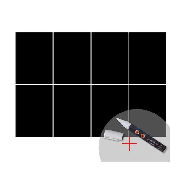 Tabulová samolepka s tekutou křídou Ambiance Squares