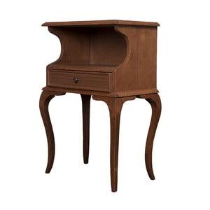 Odkládací stolek Herman Walnut, 48x31x75 cm