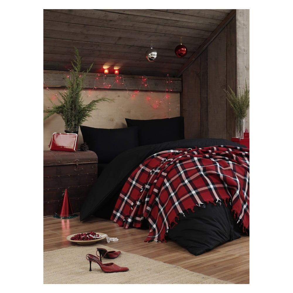 Lehký přehoz přes postel Irina Red 08815d3810