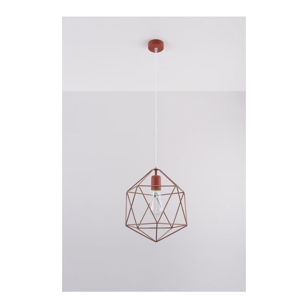 Donato réz színű függőlámpa - Nice Lamps