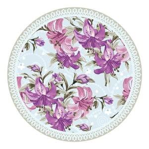 Sada 2 prostírání Nisha Purple Flowers