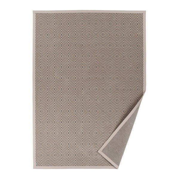 Kalana bézs, mintás kétoldalas szőnyeg, 70 x 140 cm - Narma