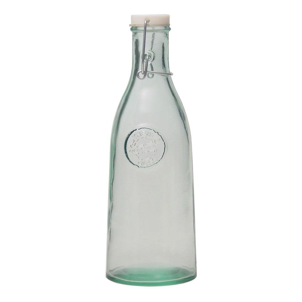 Láhev s uzávěrem z recyklovaného skla Esschert Design Authentic, 1 l