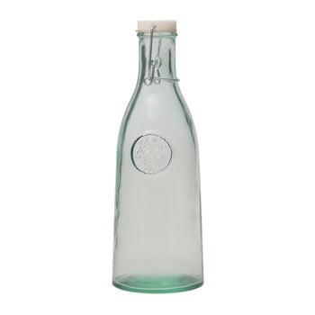 Recipient din sticlă reciclată cu dop Ego Dekor Authentic, 1 l de la Ego Dekor