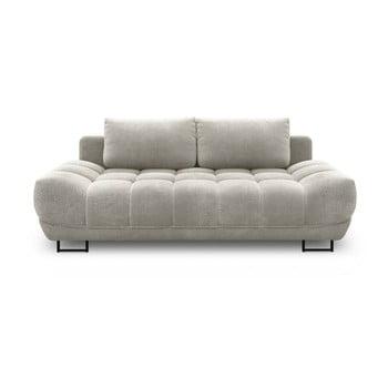 Canapea extensibilă cu 3 locuri Windsor & Co Sofas Cumulus, gri deschis de la Windsor & Co Sofas