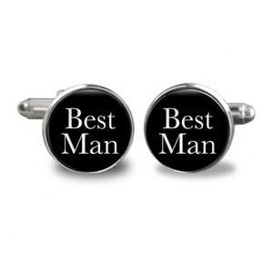 Sada 2 manžetových knoflíčků Butoni de Camasa Best Man