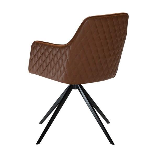Světle hnědá jídelní židle s područkami DAN-FORM Denmark Twine