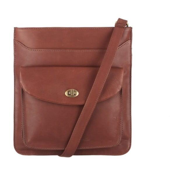Kožená taška Lilia Cognac Cross-Body