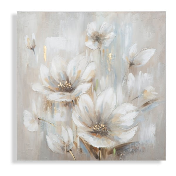 Ręcznie malowany obraz Mauro Ferretti Blossom, 100x100 cm