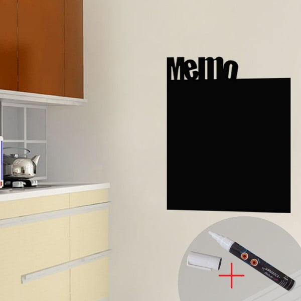 Naklejka w kształcie tablicy Ambiance Memo