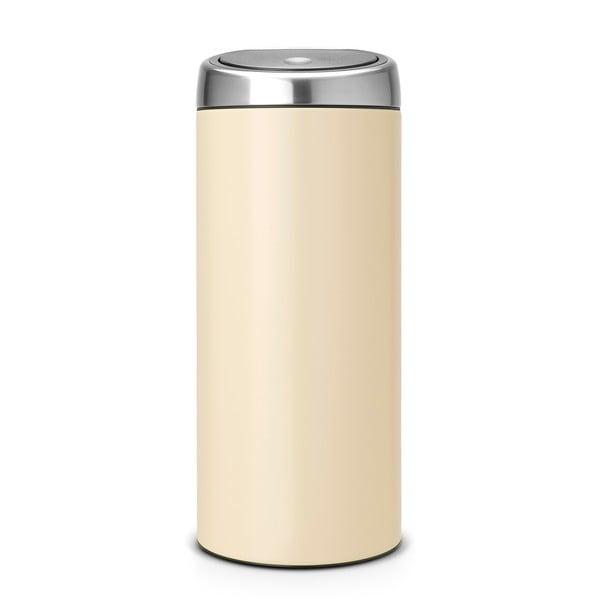 Dotykový odpadkový koš Touch Bin, 30 l, mandlová