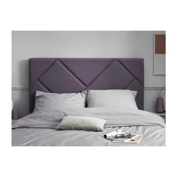 Levandulově fialové čelo postele HARPER MAISON Annika, 140 x 120 cm