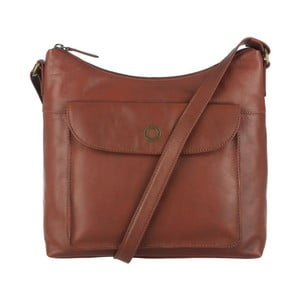 Kožená taška Angel Cognac Cross-Body