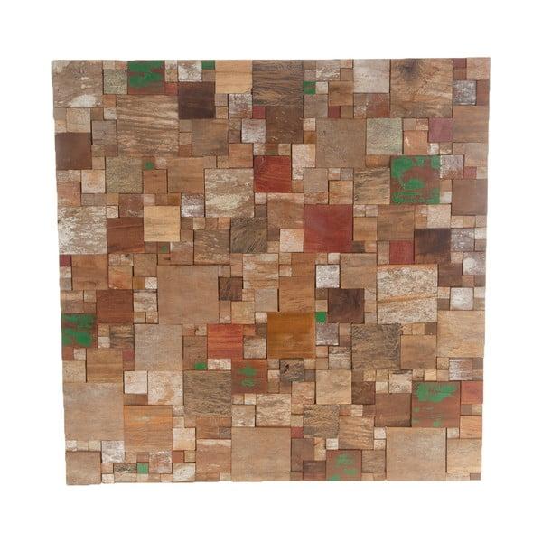 Dřevěná nástěnná dekorace Idar