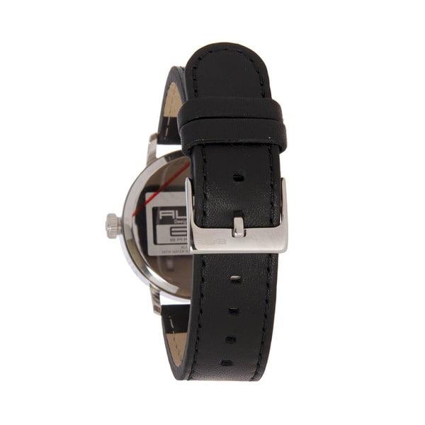 Dámské hodinky Alphabet Lady Leather Black