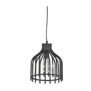 Kovové závěsné svítidlo In Black, 24 cm