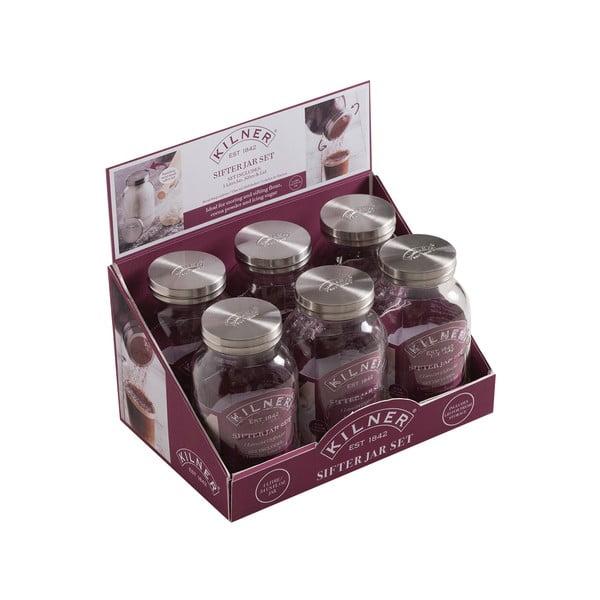 Set din sticlă pentru păstrarea alimentelor Kilner Bake