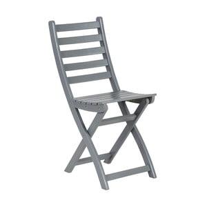 Šedá skládací židle Butlers Lodge