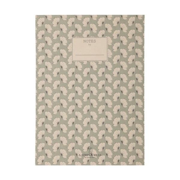 Zápisník A Simple Mess Tren, 25x18cm