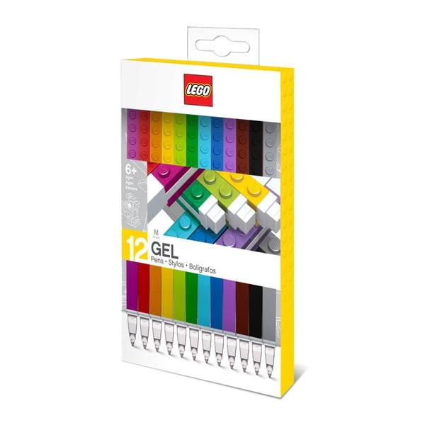 Sada 12 gélových pier LEGO®