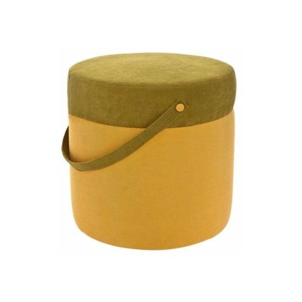 Puf Kovva Yellow/Green
