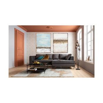 Pictură în ulei Kare Design Abstract Horizon, 120 x 90 cm