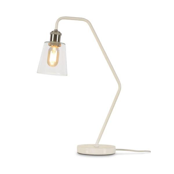 Biela stolová lampa Citylights Paris