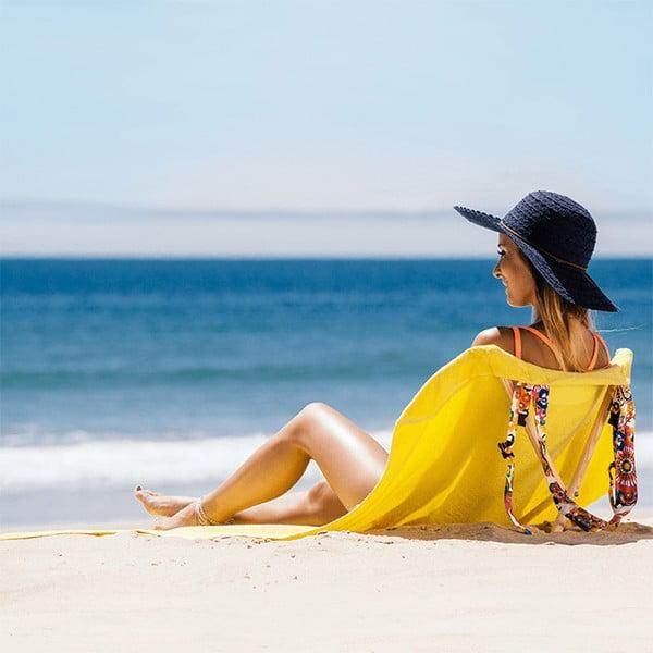 Skládací plážové lehátko a osuška v jednom Sun Seat Jungle