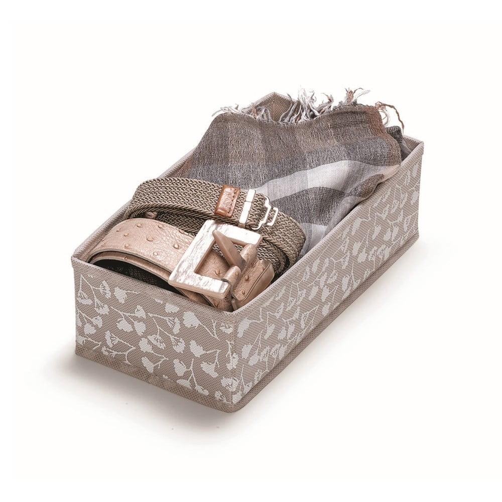 Hnědý úložný box Cosatto Bocquet, délka 28 cm