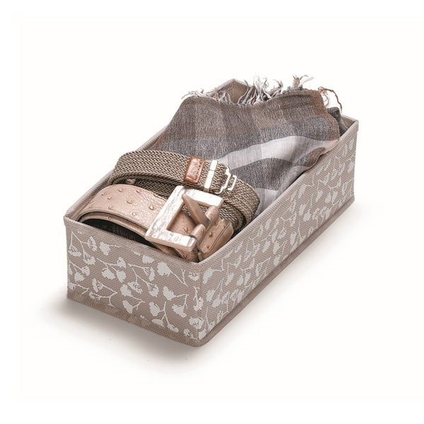 Hnědý úložný box Cosatto Bocquet, délka28cm